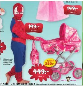 spiderman-með-barnavagn