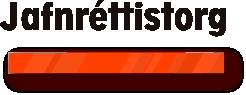 Jafnréttistorg Logo